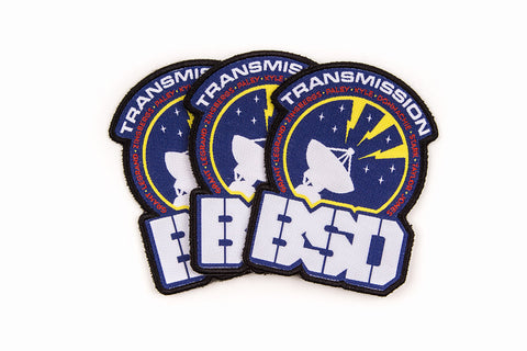 TRANSMISSION ASTRONAUT PATCH