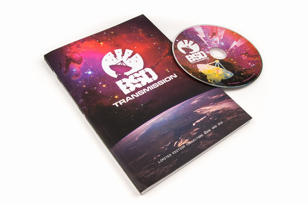 BSD TRANSMISSION COLLECTORS BOOK & DVD