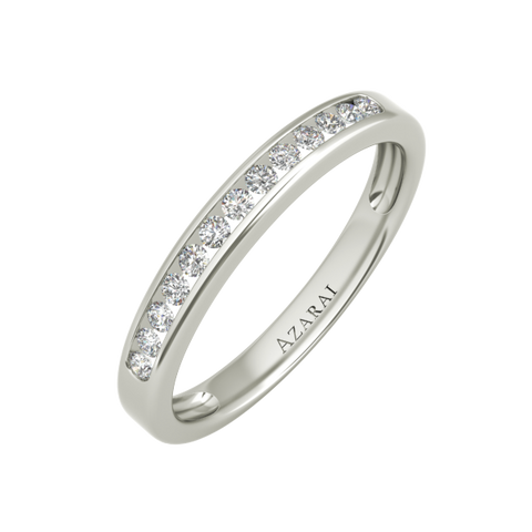 Sterling silver bride's wedding bands