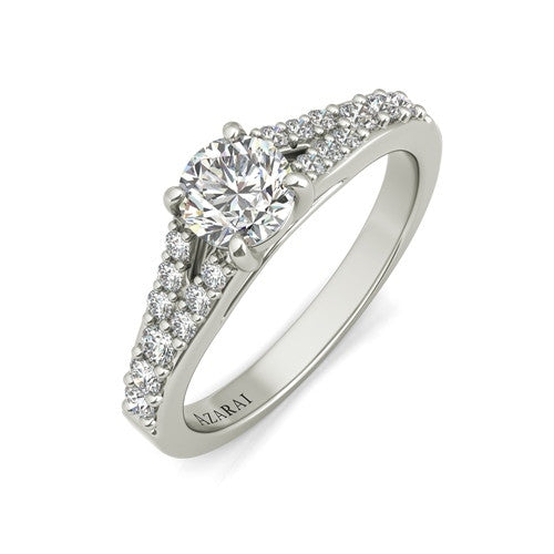 Sonora sterling silver engagement ring
