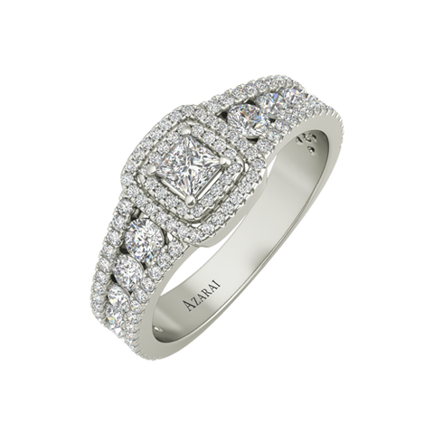 Valeris sterling silver engagement ring - Azarai Jewelry |  Abuja | Lagos | Nigeria