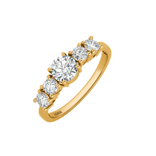 Circa 9kt gold engagement ring - Azarai Wedding Rings |  Abuja | Lagos | Nigeria