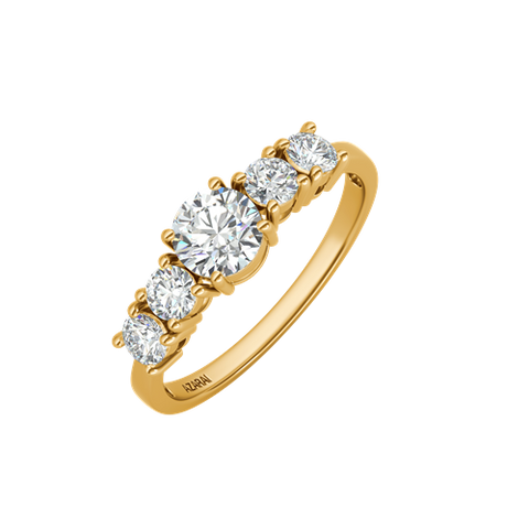 Circa 9kt gold engagement ring - Azarai Jewelry |  Abuja | Lagos | Nigeria