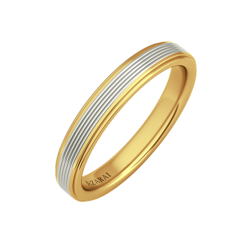 Tromen 9kt gold wedding band - Azarai |  Abuja | Lagos | Nigeria