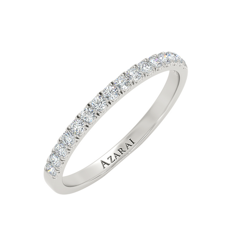 Ella sterling silver wedding band - Azarai Jewelry |  Abuja | Lagos | Nigeria