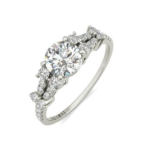 Sweetheart sterling silver engagement ring - Azarai |  Abuja | Lagos | Nigeria
