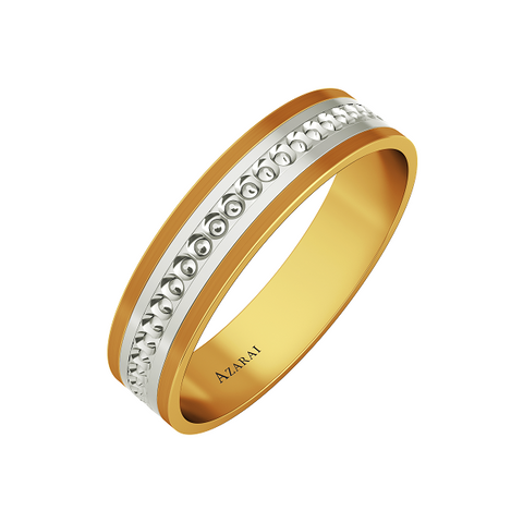 Wilton 9kt gold wedding band - Azarai |  Abuja | Lagos | Nigeria