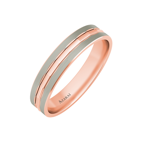 Stewart 9kt gold wedding band - Azarai |  Abuja | Lagos | Nigeria