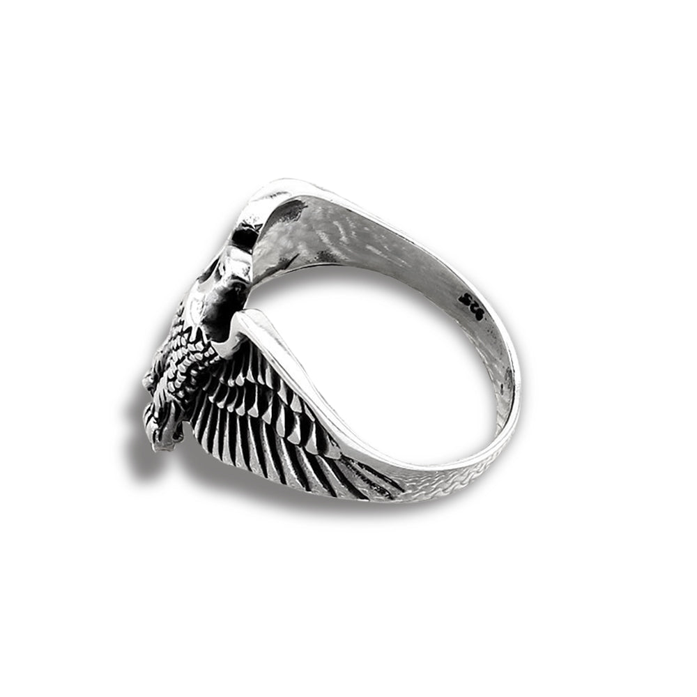 Aquilus sterling silver men's signet ring - Azarai Wedding Rings |  Abuja | Lagos | Nigeria