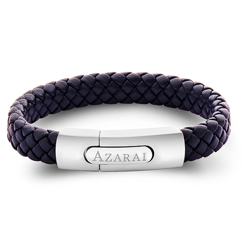 Nemo leather bracelet for men - Azarai Wedding Rings |  Abuja | Lagos | Nigeria