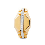 Lancelot 9kt gold men's signet ring - Azarai Wedding Rings |  Abuja | Lagos | Nigeria