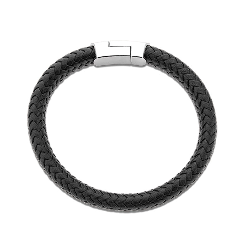 Senobu leather bracelet for men - Azarai |  Abuja | Lagos | Nigeria
