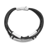 Siam leather bracelet for men - Azarai Wedding Rings |  Abuja | Lagos | Nigeria