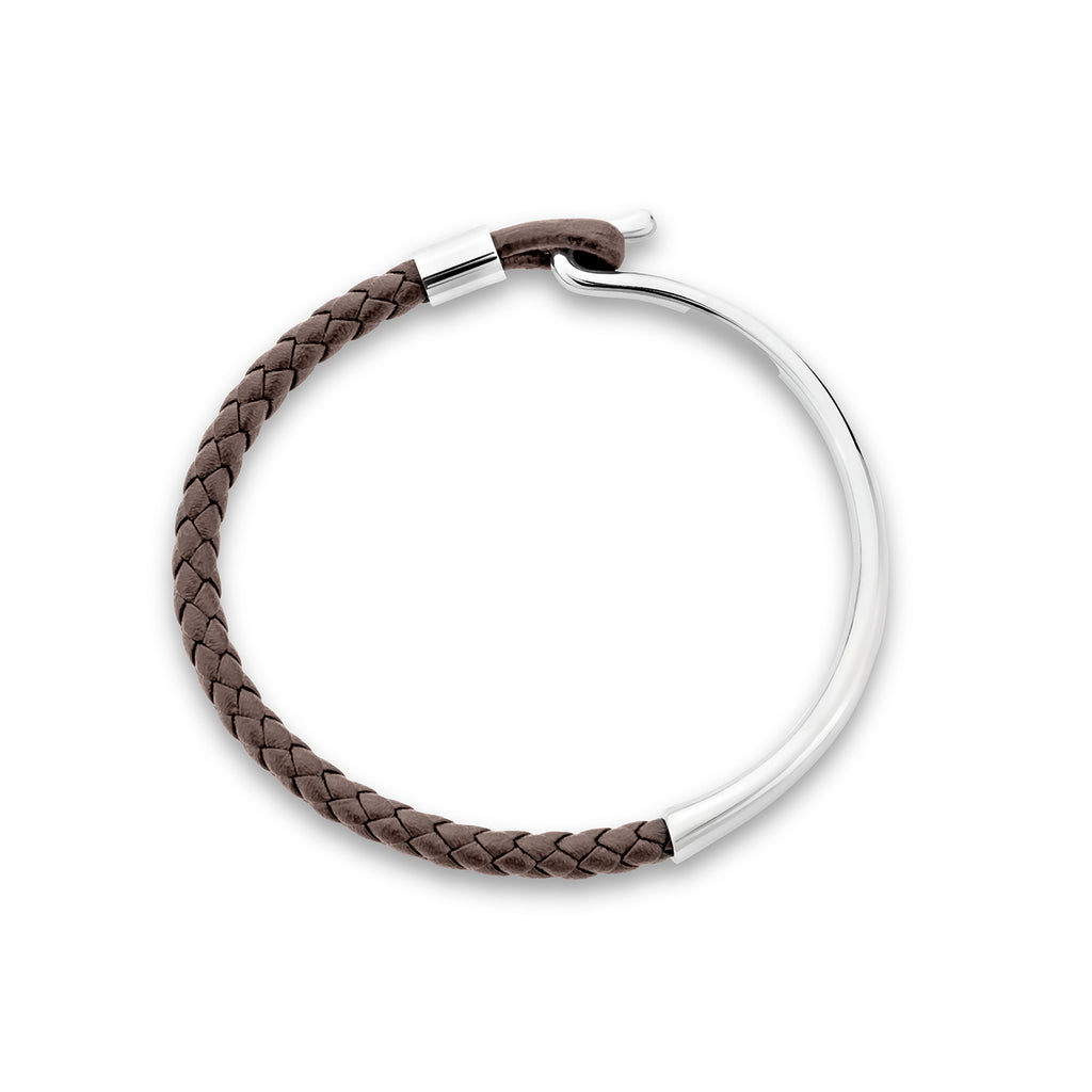 Maru leather bracelet for men - Azarai Wedding Rings |  Abuja | Lagos | Nigeria