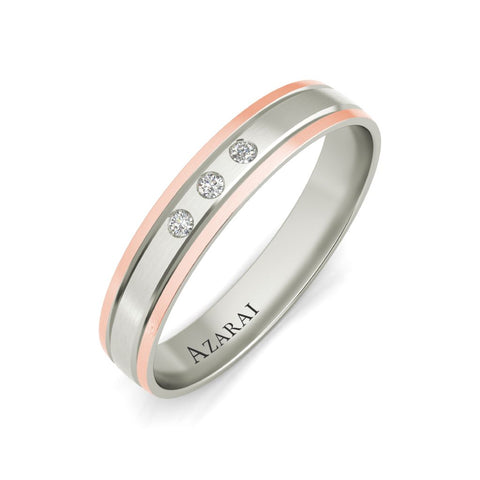 Abbott 9kt gold wedding band - Azarai Jewelry |  Abuja | Lagos | Nigeria