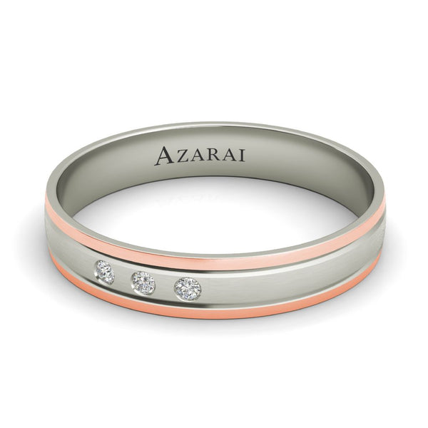 Abbott 9kt gold wedding band - Azarai |  Abuja | Lagos | Nigeria