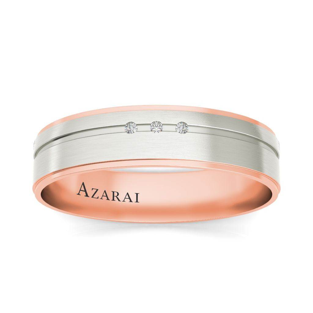 Ambre 9kt gold wedding band - Azarai |  Abuja | Lagos | Nigeria