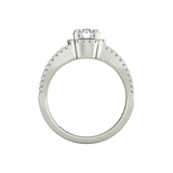 Angelika sterling silver engagement ring