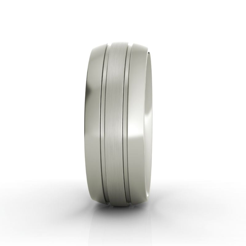 Angus titanium wedding band - Azarai Wedding Rings |  Abuja | Lagos | Nigeria