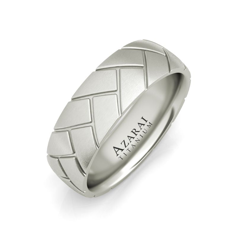 Ashby titanium wedding band - Azarai |  Abuja | Lagos | Nigeria