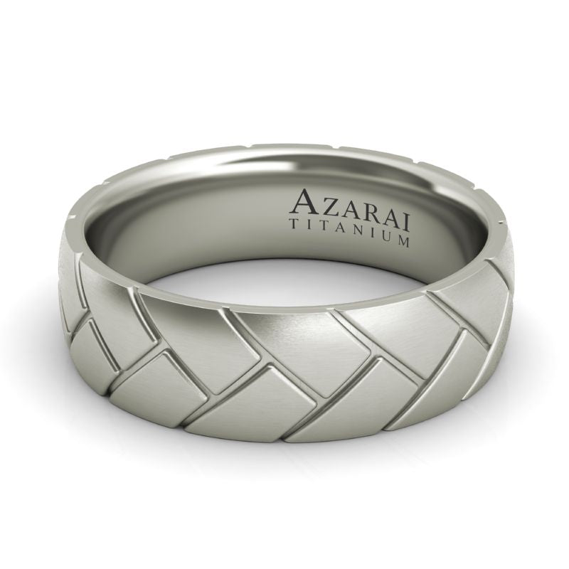 Ashby titanium wedding band - Azarai Wedding Rings |  Abuja | Lagos | Nigeria