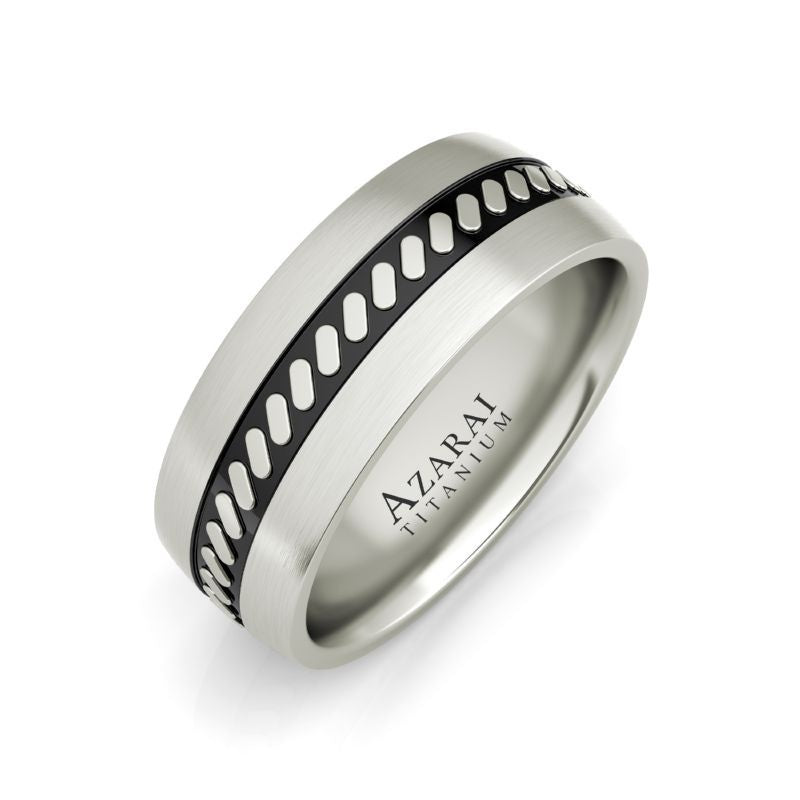 Mercury titanium wedding band - Azarai |  Abuja | Lagos | Nigeria