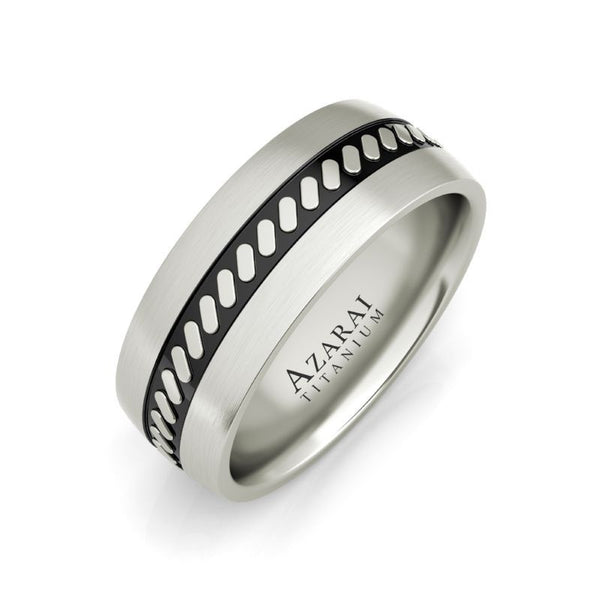 Mercury titanium wedding band - Azarai Jewelry |  Abuja | Lagos | Nigeria