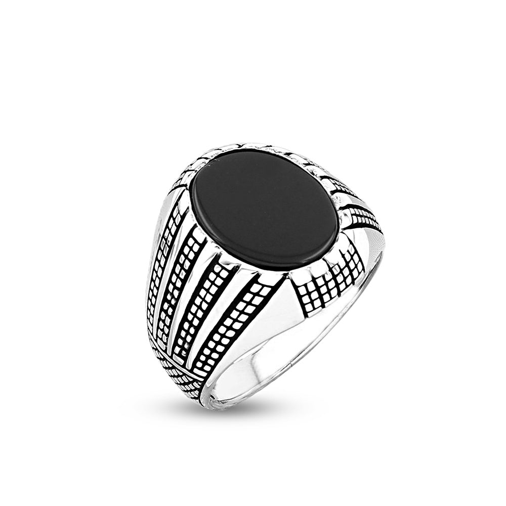 Icarus sterling silver men's signet ring - Azarai Wedding Rings |  Abuja | Lagos | Nigeria