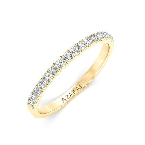 Ella 9kt gold wedding band - Azarai |  Abuja | Lagos | Nigeria