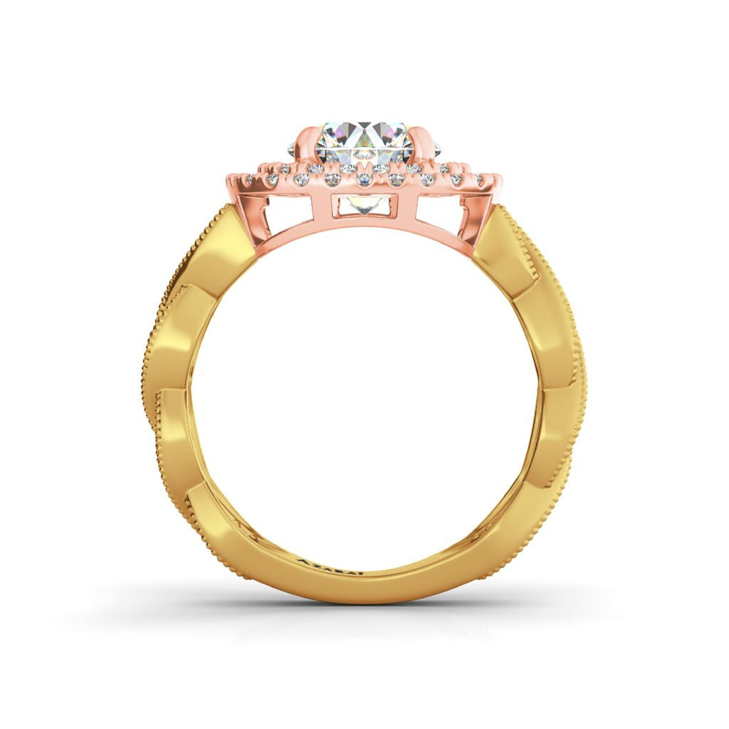 Cellini 9kt gold engagement ring - Azarai |  Abuja | Lagos | Nigeria