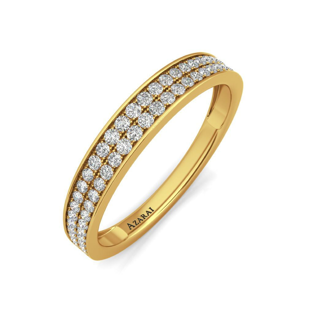 Marisol 9kt gold wedding band - Azarai Wedding Rings |  Abuja | Lagos | Nigeria