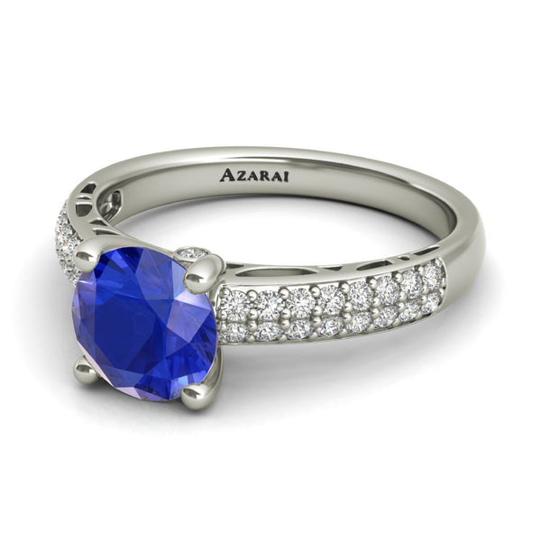 Dakota sterling silver engagement ring - Azarai |  Abuja | Lagos | Nigeria