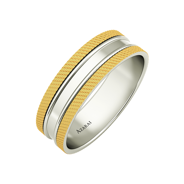 Seymour 9kt gold wedding band - Azarai Jewelry |  Abuja | Lagos | Nigeria