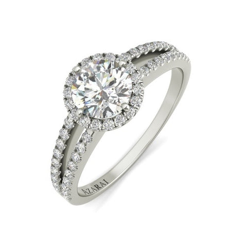 Bella sterling silver engagement ring - Azarai Jewelry |  Abuja | Lagos | Nigeria