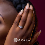 Erisa sterling silver engagement ring - Azarai Wedding Rings |  Abuja | Lagos | Nigeria