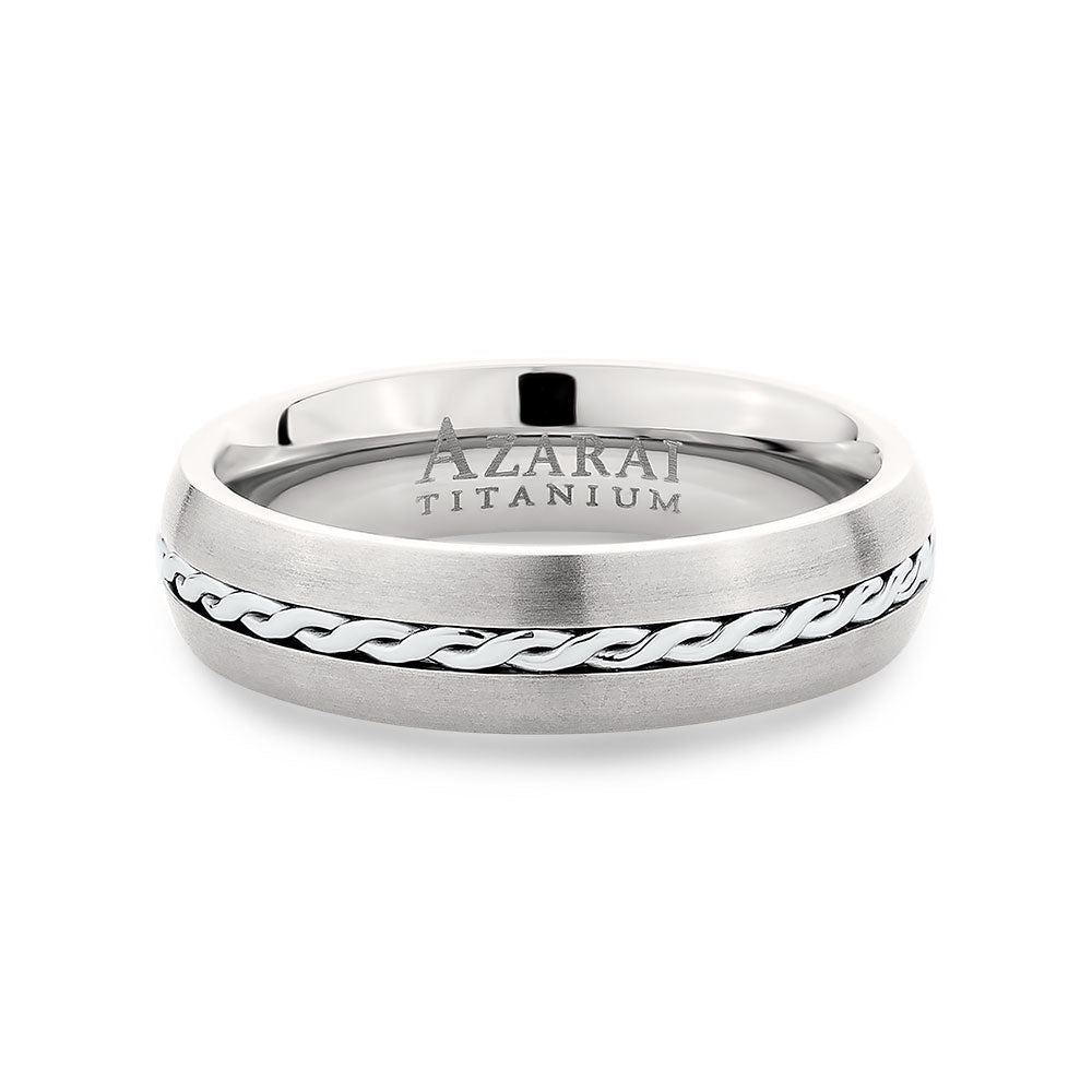 Sigma titanium wedding band - Azarai Wedding Rings |  Abuja | Lagos | Nigeria