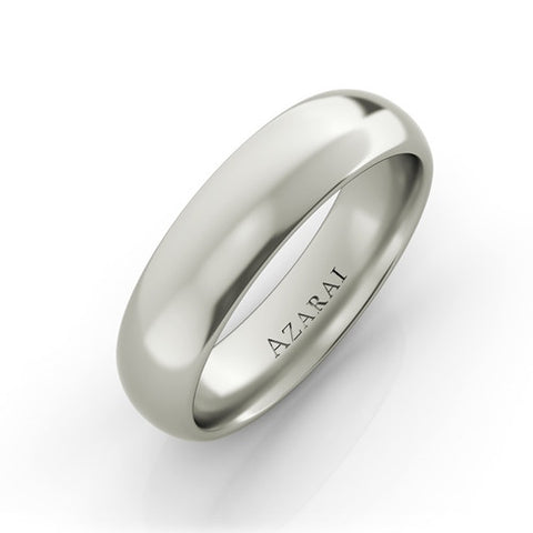 Solis sterling silver wedding band CF - Azarai |  Abuja | Lagos | Nigeria