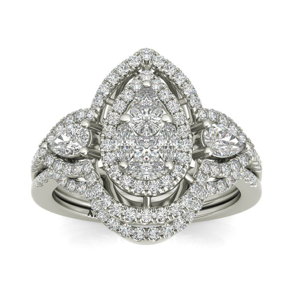 Genevieve sterling silver bridal set ON CLEARANCE - Azarai |  Abuja | Lagos | Nigeria