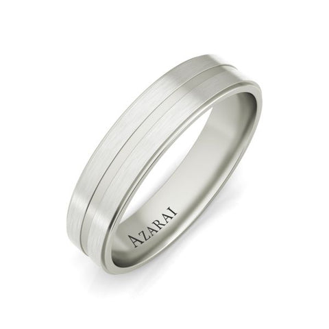 Hector sterling silver wedding band - Azarai Jewelry |  Abuja | Lagos | Nigeria