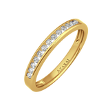 Addison 9kt gold wedding band - Azarai Wedding Rings |  Abuja | Lagos | Nigeria