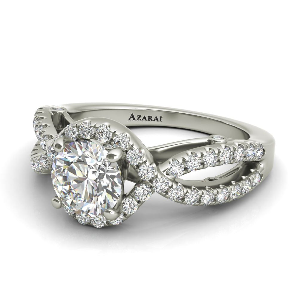Irene sterling silver engagement ring ON CLEARANCE - Azarai |  Abuja | Lagos | Nigeria