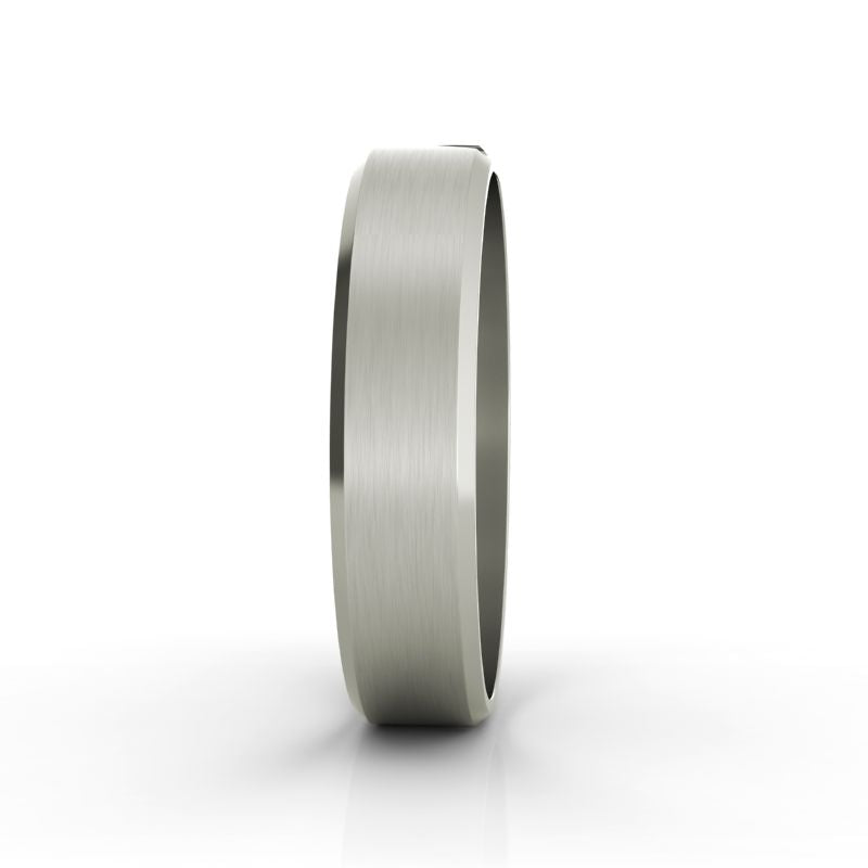 Laurent titanium wedding band - Azarai |  Abuja | Lagos | Nigeria