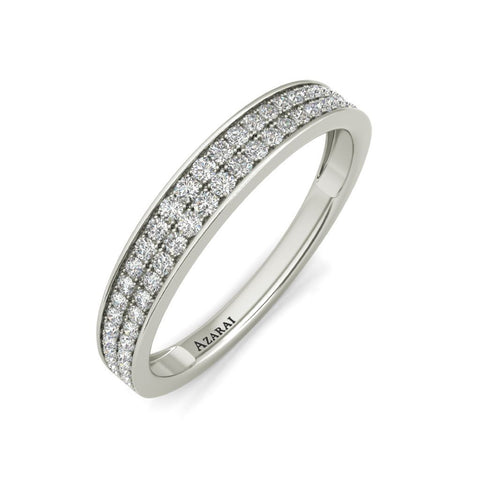 Marisol sterling silver wedding band