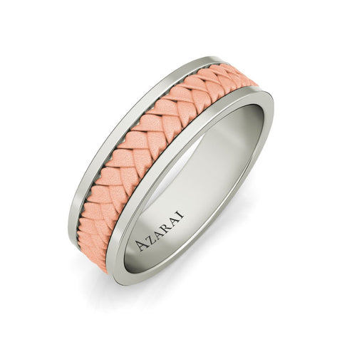 Montclair 18kt gold wedding band