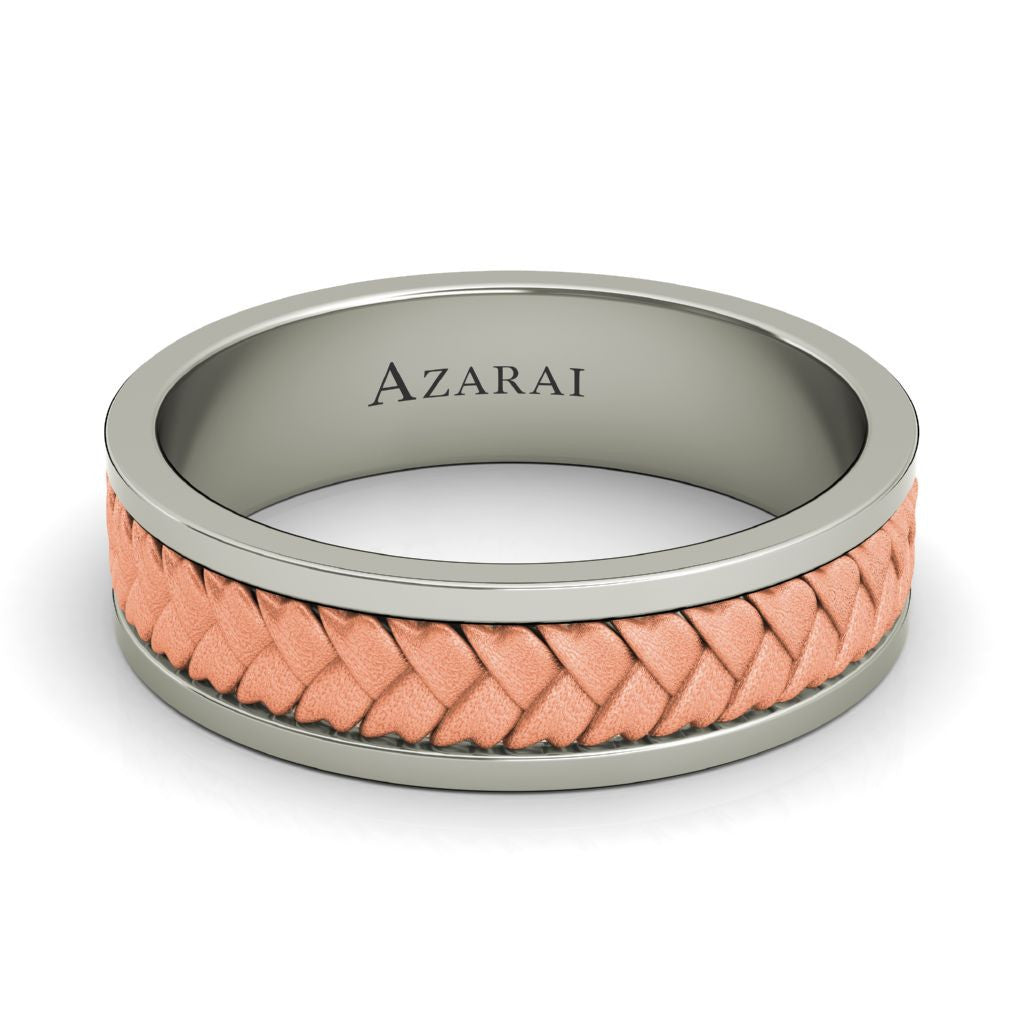 Montclair 18kt gold wedding band - Azarai |  Abuja | Lagos | Nigeria