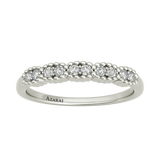 Nina sterling silver wedding band - Azarai Jewelry |  Abuja | Lagos | Nigeria