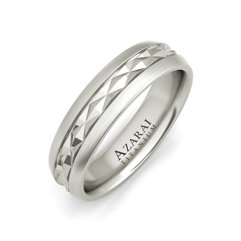 Rex titanium wedding band - Azarai Jewelry |  Abuja | Lagos | Nigeria