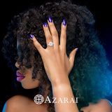 Selena sterling silver bridal set ON CLEARANCE - Azarai Wedding Rings |  Abuja | Lagos | Nigeria