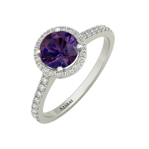 Viola sterling silver engagement ring ON CLEARANCE - Azarai Jewelry |  Abuja | Lagos | Nigeria