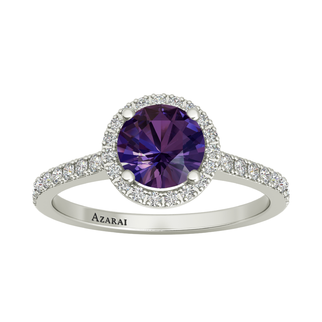 Viola sterling silver engagement ring ON CLEARANCE - Azarai |  Abuja | Lagos | Nigeria